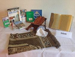 Verschiedene Gegenstände aus dem Islam